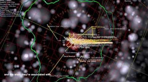 Tour por la Esfera Terrágena y sus nexos de agujeros de gusano, por Steve Bowers