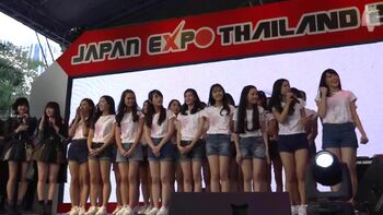 170212 BNK48 1st appearance at JAPAN EXPO THAILAND 2017