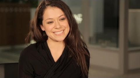 TATIANA MASLANY Takes Taxis in Character & Answers Fans' Questions - ORPHAN BLACK Ask OB