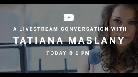 TATIANA MASLANY In Conversation Canada's Top Ten Live