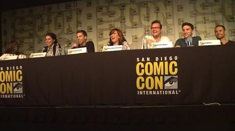 Full Orphan Black Comic Con Panel - San Diego Comic Con 2015