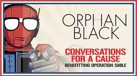 """Orphan Black"" Conversation w Cast & Creators - Nerd HQ (2013) HD - Tatiana Maslany"