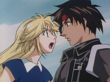Orphen and Cleao first meeting