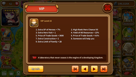 VIP level 15