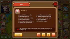 VIP level 21