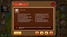 VIP level 23