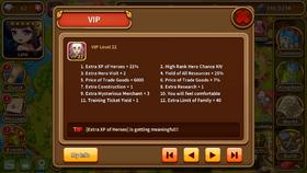 VIP level 22