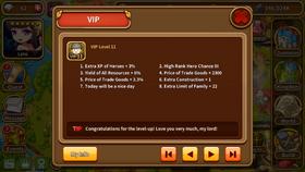 VIP level 11