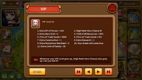 VIP level 19