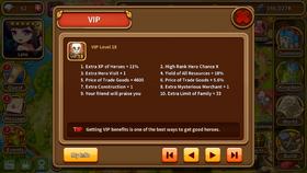 VIP level 18