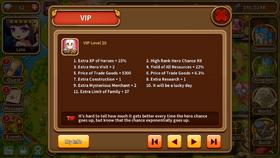 VIP level 20