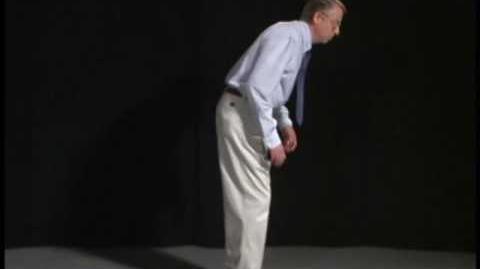 Abnormal Gait Exam Parkinsonian Gait Demonstration