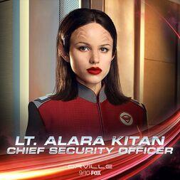 Lt Alara Kitan