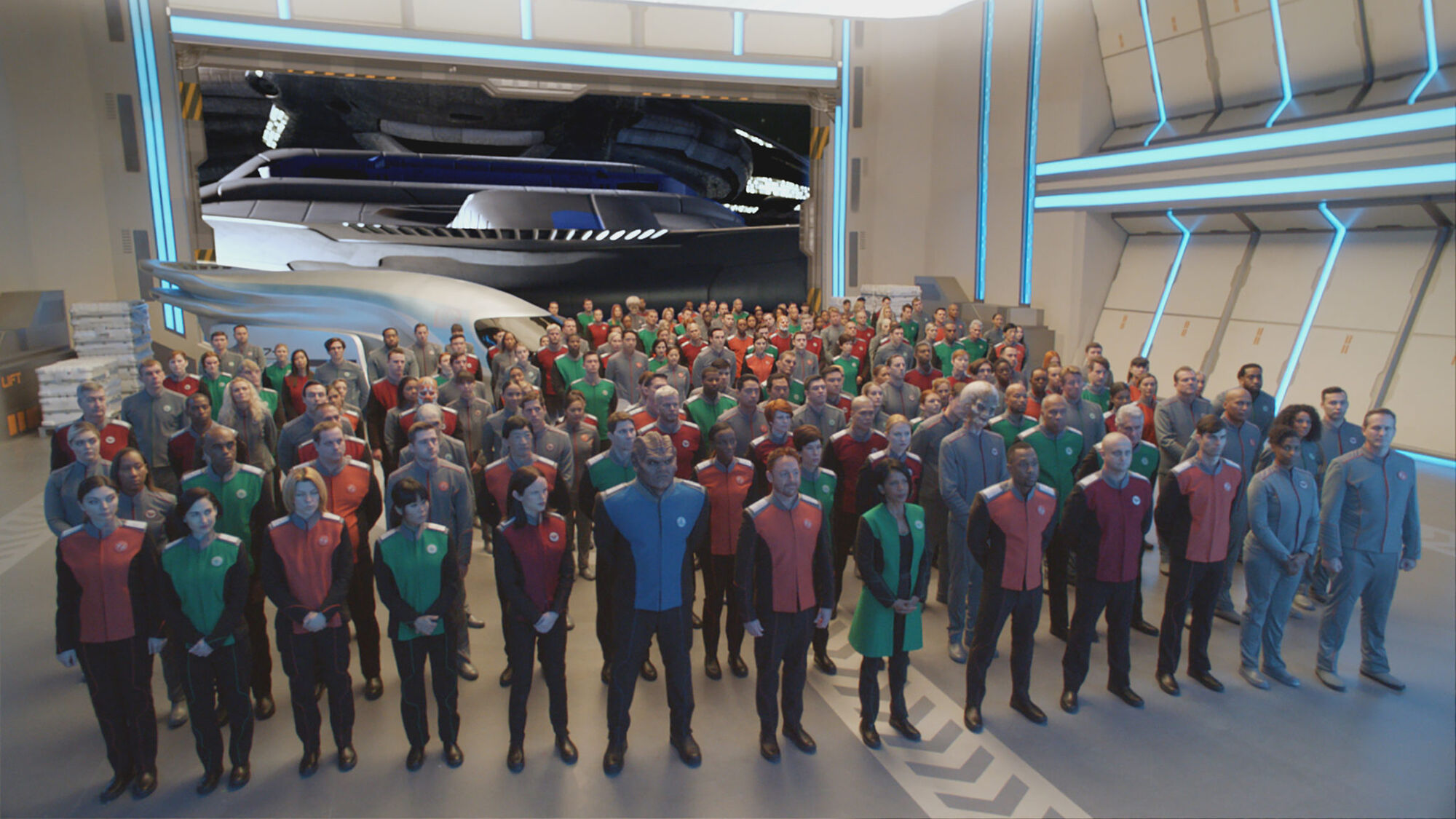Ranks and Positions | The Orville Wiki | FANDOM powered by Wikia