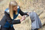 Kelly Grayson girl dermoscanner
