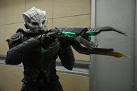 Krill plasma rifle