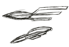USS Orville concept sketch