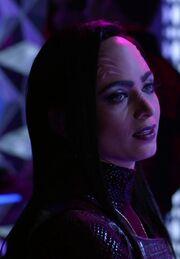 Xelayan female hologram
