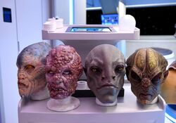 Orville costumes makeup