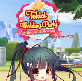 Tokioi Wedding Party run 3 banner heading