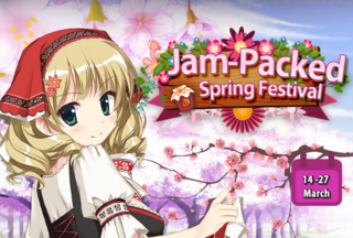 Jam-Packed Spring Festival run 3 banner heading