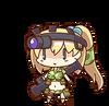 Kurume Kozue chibi
