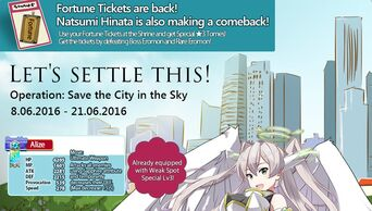 Operation Save the City in the Sky Banner