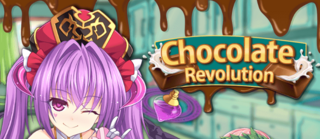 Chocolate Revolution banner heading