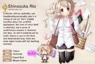 Shinozuka Rio Album Entry