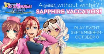 Sapphire Vacation Event Banner