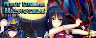 First Dream Hypnotism run 2 banner heading