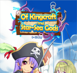 Of Kingcraft and Star-Sea Gods run 3 banner heading