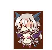 Aegis (Mischievous Succubus version) chibi