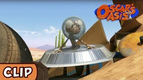 Oscar's Oasis - Alien Attack! HQ Funny Cartoons