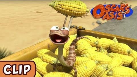 Oscar's Oasis - A Handful of Corn HQ Funny Cartoons