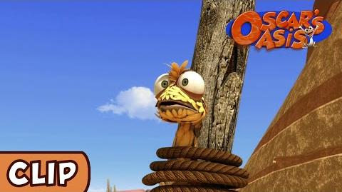 Oscar's Oasis - Fluff, The Magic Lizard HQ Funny Cartoons