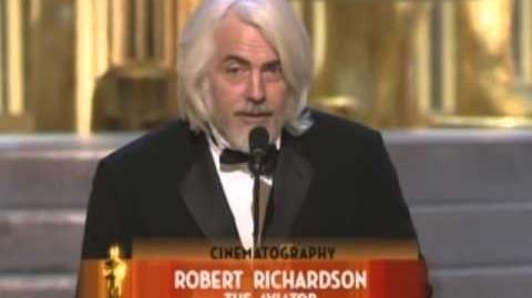 The Aviator Wins Cinematography 2005 Oscars
