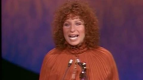 """Evergreen"" Wins Original Song 1977 Oscars"