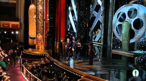 """Hugo"" winning the Oscar® for Sound Mixing"
