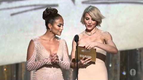 """The Artist"" winning the Oscar® for Costume Design"