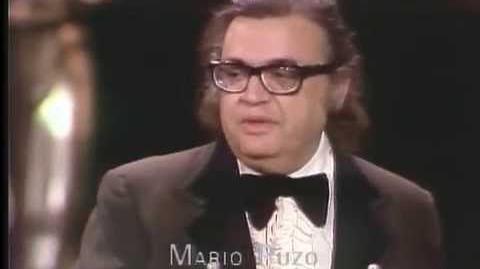 Francis Ford Coppola and Mario Puzo Win Adapted Screenplay 1975 Oscars