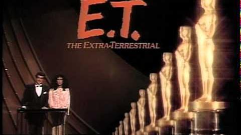 E.T. The Extra-Terrestrial Wins Original Score 1983 Oscars