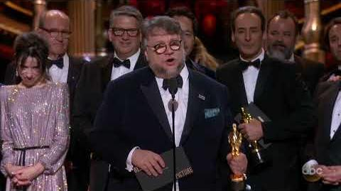 THE SHAPE OF WATER Oscar 2018 Acceptance Speech for Best Picture