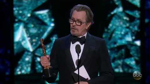 Gary Oldman's Oscar 2018 Acceptance Speech for Actor in a Leading Role