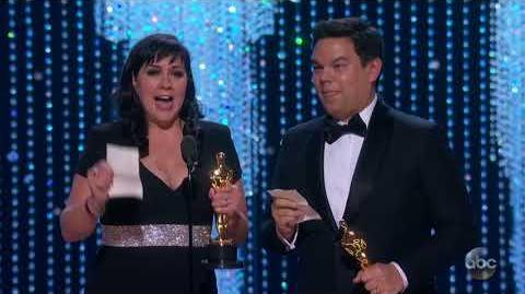 Kristen Anderson-Lopez and Robert Lopez's Oscar 2018 Acceptance Speech for Music (Original Song)