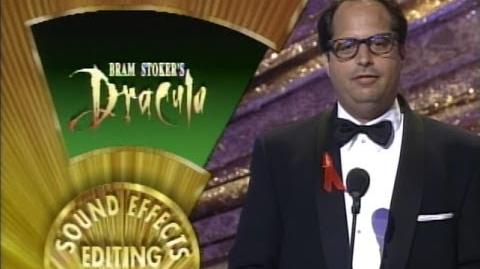 """Bram Stoker's Dracula"" winning Oscars® for Makeup and Sound Effects Editing"