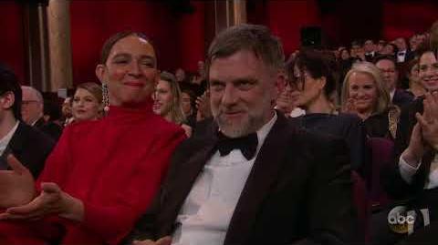 Mark Bridges's Oscar 2018 Acceptance Speech for Best Costume Design