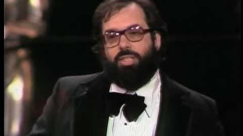 Francis Ford Coppola Wins Best Director 1975 Oscars