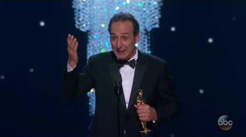 Watch Alexandre Desplat's Oscar 2018 Acceptance Speech for Original Score