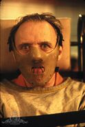 Hannibal Lecter with muzzle - The Silence of the Lambs